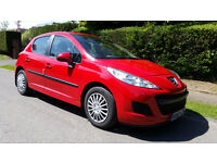 PEUGEOT 207 1.4 S 5dr (a/c) (red) 2010