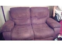 FREE Reclining sofa and chairs
