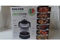 Salter Aerocook Air Fry Roast BBQ Grill Bake & Stew 5L Capacuty + 2L Extender Ring