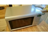 Panasonic Silver NN-E225M Microwave oven - Full working order with instruction book