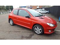 2006 PEUGEOT 206 HDI DIESEL 1.4 M,O,T JUNE 2017 ONLY 79,000 MILES £30 A YEAR TAX
