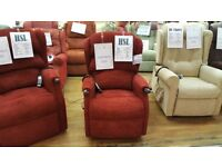 Petite HSL Linton Dual Motor Riser Recliner Chair, Free Delivery