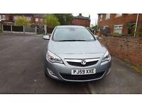 New shape Vauxhall Astra 1.6 petrol. Grey , FSH , HPI clear, MOT , Leather, No issues