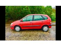 Renault Megane Scenic 1.4, Long MOT, Cheap Clean Car