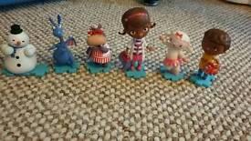 Set of Doc McStuffin figures