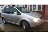 2005 VOLKSWAGEN TOURAN 2.0 SE TDI AUTOMATIC DIESEL DRIVES SUPERB VERY GOOD CONDITION