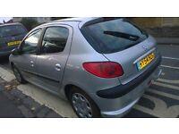 Peugeot 206 reg 54 , 1.4 HDi £30 tax a year, 12 months MOT full history £675
