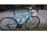 ladies Cube Racing Bike,24 speed,Very lite,Aluminium,Carbon forks,