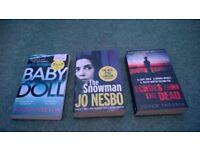 3 crime books