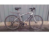 Raleigh hybrid bike Town and Comfort series 100