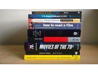 9 Various Movie / Film Books