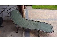 Nash outlaw deluxe fishing bed chair