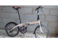 Almost-new Bickerton Junction 1507 folding bike (Brompton, Tern, Dahon alternative)