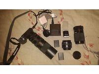 Samsung NX1000 Digital Camera With extras