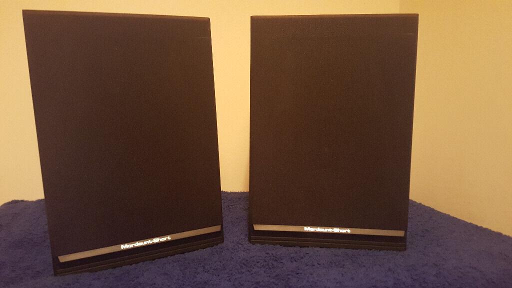 Mordaunt Short MS10 Black Speakers