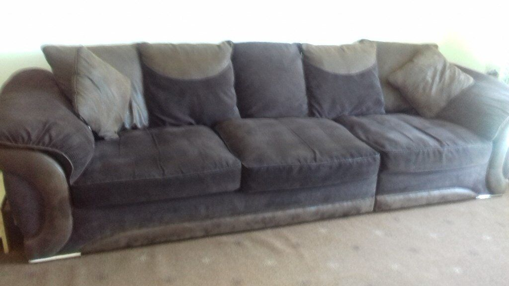 Maze Scatterback Right-Hand Corner Group Sofa in Chocolate | in Ayr ...