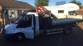 Ford transit Hook body with highab
