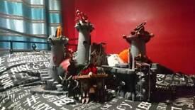 Playmobil knight's castle plus extras