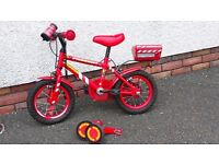 """11"""" kids bike"""