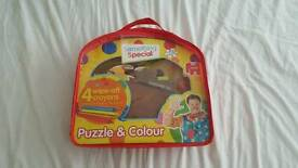 Mister Tumble colour in puzzle