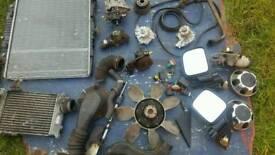Isuzu troper parts radiator.water pump mirrors etc.