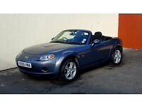 2005 MAZDA MX5 1.8I CONVERTIBLE NATIONWIDE DELIVERY CREDIT CARD FACILITY GURANTEED £200 PX VALUE