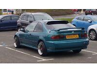 Honda civic eg coupe 1.5 auto like show car modified polo golf toyota jazz ek nissan fast car ford