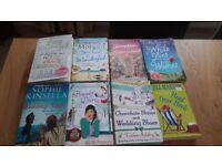 Various fiction hardbacks and paperbacks