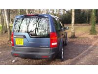 Landrover Discover 3 SE, Manual, 7 seater, Black Leather