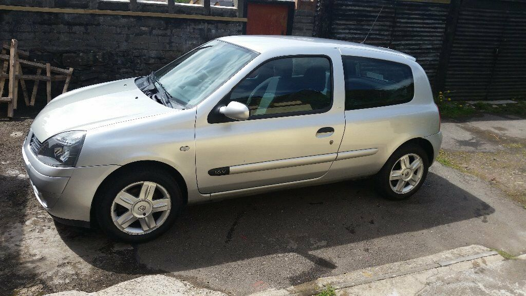 renault clio 1 2 campus sport 2006 in tonypandy rhondda cynon taf gumtree. Black Bedroom Furniture Sets. Home Design Ideas