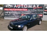 2000 (X) NEW SHAPE BMW 325 CI SE AUTO 2 DOOR COUPE BLUE JAN 2018 MOT 120K S/H FULL TAN LEATHER E/W +