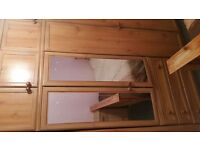 Full Set of 3 Wardrobes - In Pine Effect