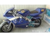 Mini moto replica Valentino Rossi