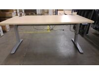 Height adjustable desks for sale