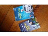 DVA Theory test and highway code books