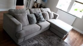 Sofa for sale : DFS Freya 4 seater - Immaculate condition.