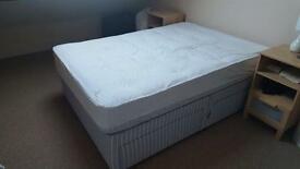 4 drawer double divan for sale