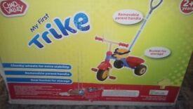 Kids trike and additional trike.