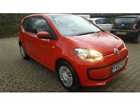 2014 Volkswagen UP! Move Up! Only 34k FSH Clean example FULL MOT
