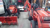 Tracteur kioti ck 20