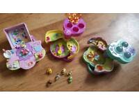 Littlest pet shop teeniest tiniest playsets with figures