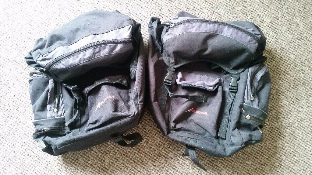 Dual 30L Bicycle Paniers - Used
