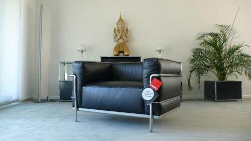Cassina Le Corbusier Lc3 Sessel Leder Schwarz Top In Berlin