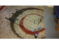 Set of golf clubs (11 in total)