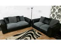 New/Ex display jumbo cord 3+2 seater**Free delivery**