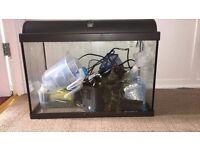 65 liter interpret fish tank with accessory