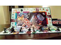 Star Wars Saga Edition Monopoly Board Game.