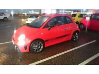 * ABARTH 595 T-jet 1.4 TURBO! RED, AMAZING CAR! *