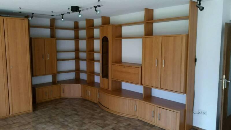 Schrankwand buche funiert in bayern forchheim wohnwand for Schrankwand gebraucht