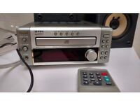 High quality Denon CD player radio with 2 JVC speakers thrown in